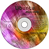 Ubuntu Linux Variety Pack on ONE DVD - Ubuntu 11.04, 11.10, 12.04, and 12.10 PLUS Lubuntu 11.10