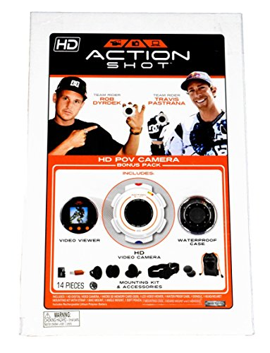 Action Shot HD POV Camera Bonus Pack (Includes HD...