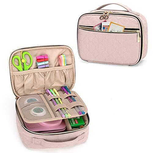 Yarwo Kameratasche für Kompaktkamera, Sofortbildkamera Aufbewahrungstasche, Tragetasche für Fujifilm Instax Mini 9 and Mini 8, Schutz Tasche für Sofortdruckkamera und Zubehör, Rosa