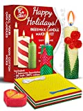 Candle Making Kit Beeswax - Candle Making Supplies DIY Kit with Creative How-to Instructions – Candle Wax...
