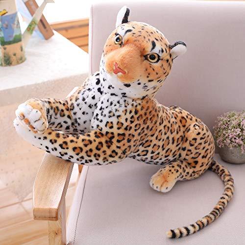 CZJMCT-DQ - Muñeca de leopardo rellena, regalo CZJMCT-DQ (color: A, altura: 40 cm)