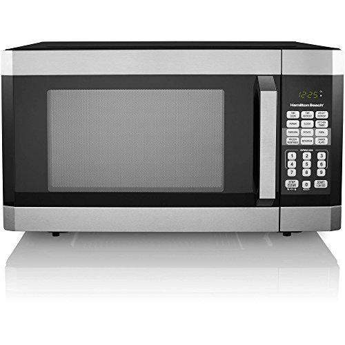Hamilton Beach 1.6 cu ft Digital Microwave Oven, Stainless Steel