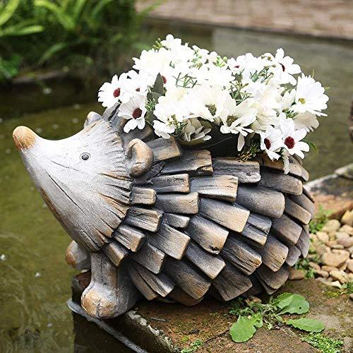 NYDZ tuin ornamenten egels fleshy bloempot waterdicht magnesium oxide Yard landschap gazon decoratie geschenk - 33,5 * 25 * 21cm
