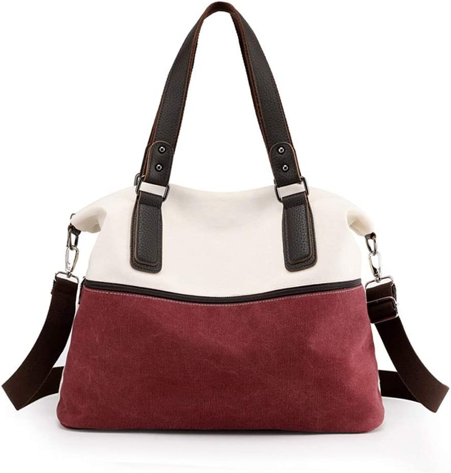 DLYDSSZZ Canvas Tote Regular discount Shoulder Bag Dual-use Large Inventory cleanup selling sale Handbag Capacit