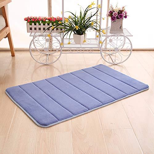 nulala memory foam badmat antislip badmat absorberende badmatten geschikt als slaapkamer tapijt wooncultuur kindermat 50 * 80cm Dark Blue