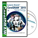 Corel CorelDRAW 2019 Tutorial Training on 2 DVDs 11 hours 178 videos