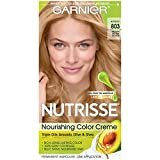 Garnier Nutrisse Nourishing Hair Color Creme, 803 Medium Buttery...