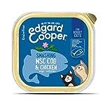 Edgard & Cooper Comida humeda Gatos Adultos sin Cereales, Natural con Pollo Fresco y Bacalao con certificación MSC… 6