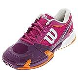 Wilson Women's Rush Pro 2.0 Fiesta Pink/Plumberry Sneaker 6 B (M)