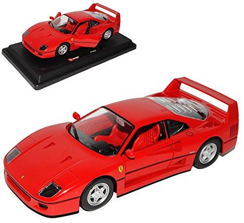 Bburago Ferrari F40 Coupe Rot 1987 -1992 1/24 Modell Auto