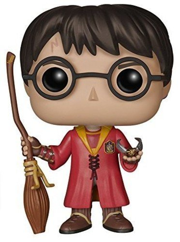 Pop! Movies - Muñeco cabezón Harry Potter Quidditch (Funko