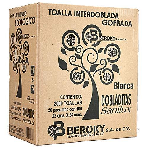 Toallas Interdobladas marca Sanilux