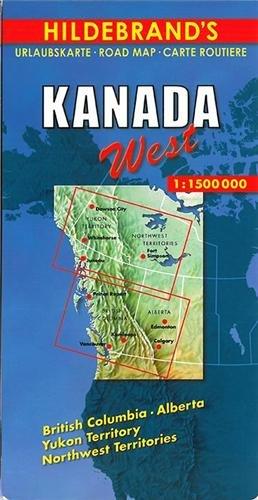 Hildebrand's Travel Map: Canada (Hildebrand's Canada maps)