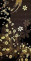 ポスター ウォールステッカー 長方形 シール式ステッカー 飾り 30×16cm Ssize 壁 インテリア おしゃれ 剥がせる wall sticker poster クール 和風 和柄 花 フラワー 005847