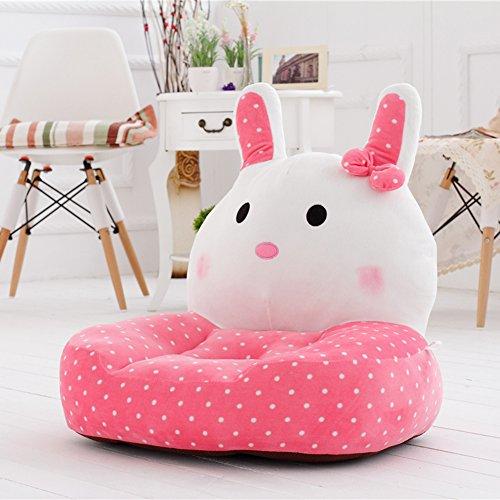 VERCART Sessel Schlafsofa Tier für Kinder In Outdoor Sitzsäcke Kissen Sofa Sofakissen Hocker Sitzkissen Bodenkissen Füllung Möbel Rosa Samt