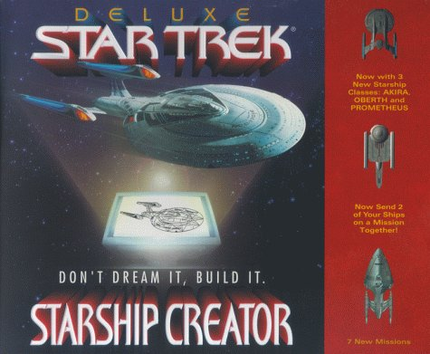 Deluxe Startrek Starship Creator