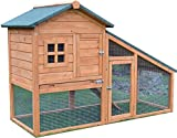 FeelGoodUK Rabbit Hutch, 150 x 66 x 100 cm