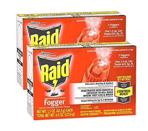 Raid Concentrated Deep Reach Fogger (Pack - 2)