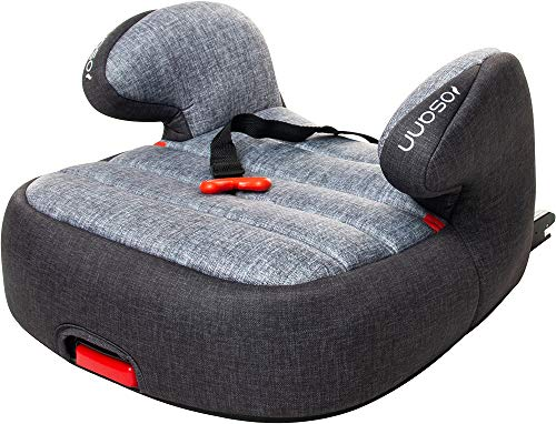 Osann 104-220-263 Tango Isofix Kindersitz Gruppe 3 (22-36 kg) mit Gurtfix, Black Melange