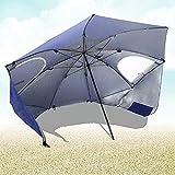 YANGSANJIN Sombrillas de Playa al Aire Libre, refugios para el Sol y el Viento, utilizados para Playas y Eventos Deportivos, Pesca, Refugio portátil para el Sol y el Clima