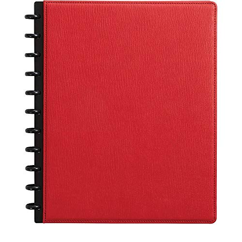 Staples 2724488 Arc Customizable Notebook System 8-1/2-Inch x 11-Inch Red Each