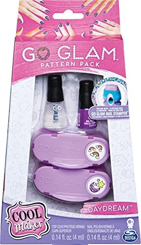 Cool Maker - 6046865 - Loisirs Créatifs - Recharges Go Glam Nail Stamper Large - Machine à manucure - Modèle Daydream