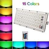 A & Y Ultra Thin Slim IP65 LED Flood Outdoor RGB Light