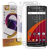 Guran 4 Paquete Cristal Templado Protector de Pantalla para Wileyfox Storm Smartphone 9H Dureza Anti-Ara?azos Alta Definicion Transparente Película