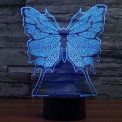 Kreative Schmetterling Tischlampe Farbe Ersatz Tischlampe neues Nachtlicht