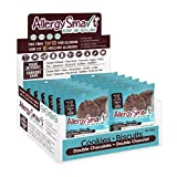 Allergy Smart Cookie - Safe for School, Nut Free, Plant Based Organic Snacks - Dairy Free, Gluten Free Delicious Ingredients - 28g Units, 12 Individual Wrapped Units, 336g Total (Double Chocolate)