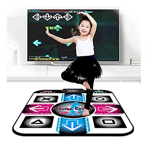 DLOGG Rilievo di Ballo for Bambini for Adulti Antiscivolo Resistente all'Uso Durevole Punto di Dancing Rilievo Commedia Musicale Mat Ballerino Collegamento Coperta USB for PC/Windows 98/2000 / XP /