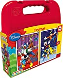 Educa Borrás Mouse Mickey Maleta Puzzle Doble 16510