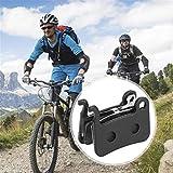 Eulbevoli Mano de Obra Exquisita Resina semimetálica Bicicleta Frenos de Disco Pastillas Bloques Kit de Herramientas para Montar en senderos para la Competencia de Entrenamiento