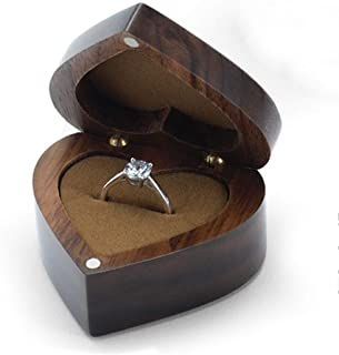 wooden heart box