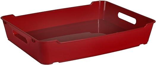 keeeper Kosz deco loft A4 w kolorze czerwonego wina, 37 x 28,5 x 6,5 cm