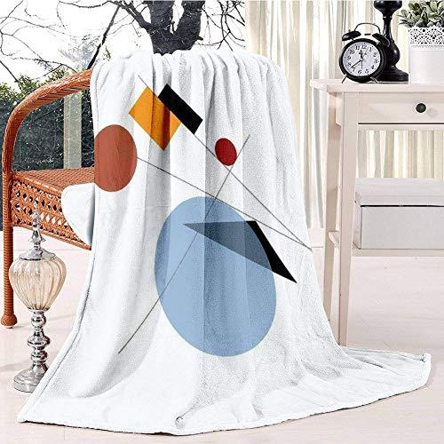 Bauhaus Plush Throw Blanket Soft Receiving Blanket Bed Throws Christmas Sofa Shawl Blanket Kid Nursery Emergency Blanket for Living Room 60x80IN