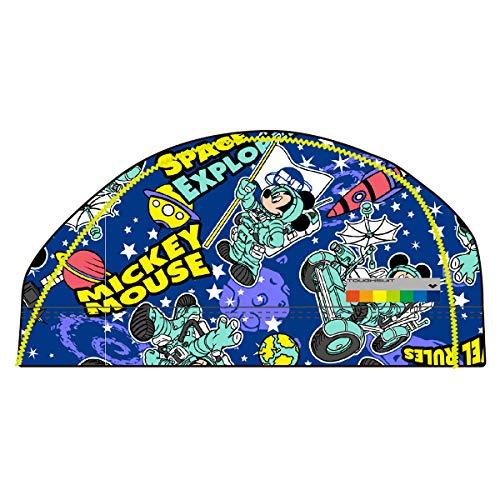 arena(アリーナ) スイムキャップ スイミングキャップ タフキャップ ディズニー ミッキー月面着陸 DIS-9359 (BUBU)ブルー M