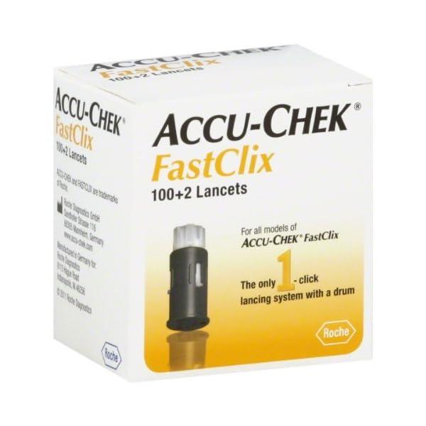 buy  Accu-Chek Fastclix Lancets – 100+2 (17×6) ... Diabetes Care