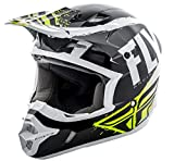 Fly Racing 2019 Casco juvenil Kinetic – Bruñido