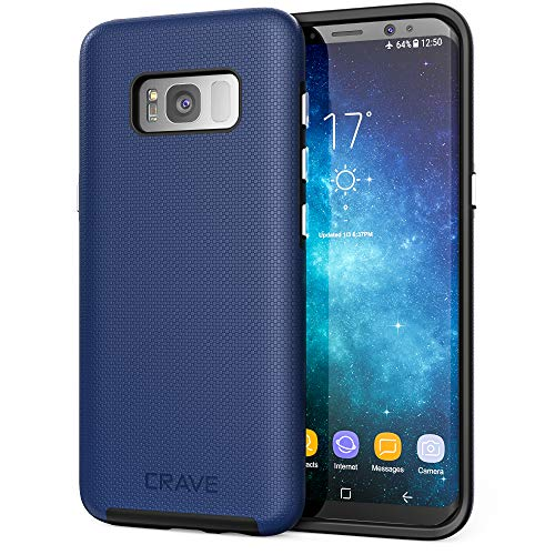 S8 Case, Crave Dual Guard Protection Series Case for Samsung Galaxy S8 - Navy