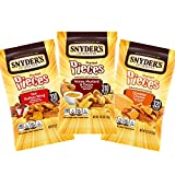 Snyder's of Hanover Pretzel Pieces, Variety Pack of Pretzels Individual Packs, 2.25 Ounce Bags (18 Count)