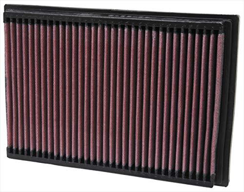 K&N 33-2245 Motorluftfilter: Hochleistung, Prämie, Abwaschbar, Ersatzfilter, Erhöhte Leistung, 2000-2014 (408, 308, 307, C4)