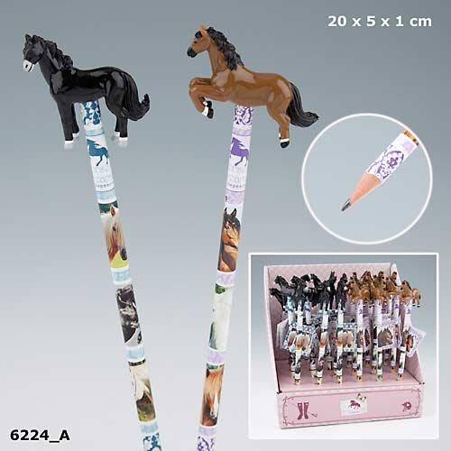 Paard Dromen Potlood met Pony Topper - 6224 Bay