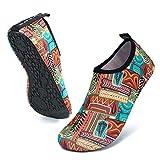 UBFEN Zapatos de Agua Hombre Mujer Zapatillas Secado Rápido Calcetines de Descalza Zapatos de Playa de Verano Deportes Acuáticos para Buceo Surf Yoga