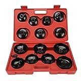 CICMOD KFZ Set di Strumenti per il Filtro Dell'olio Coperchio, Chiave, Cartuccia per Filtro Dell'olio