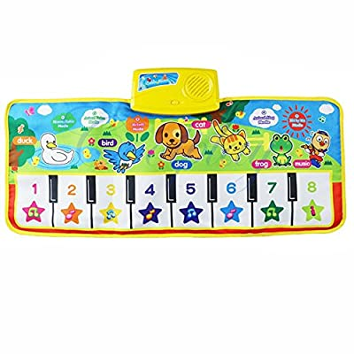 Hot Sales FimKaul Keyboard Musical Singing Gym Educational Piano Plat Kid Toy