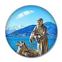イタリアアッシジセントフランシスラゴマッジョーレ冷蔵庫マグネットホワイトボードマグネットオフィスキッチンデコレーション