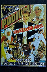 PODIUM HIT 155 JANVIER 1985 SPECIAL NOEL SOPHIE FAVIER + POSTERS PATRICK BRUEL KAREN CHERYL AXEL BAUER