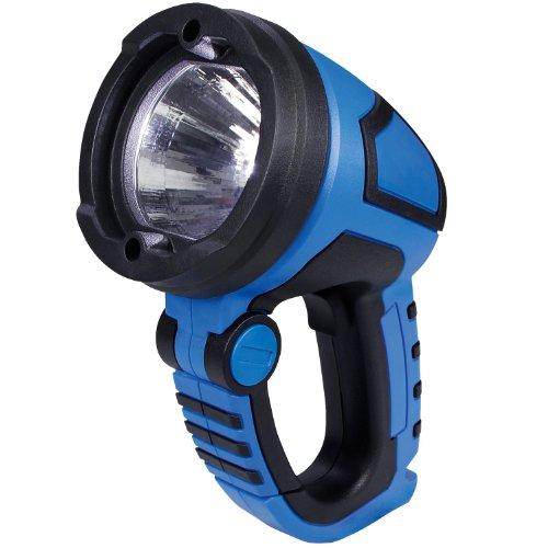 Cartrend 80286 LED-Arbeitsleuchte, 3 Watt Power-LED, 12 und 230 Volt Adapter