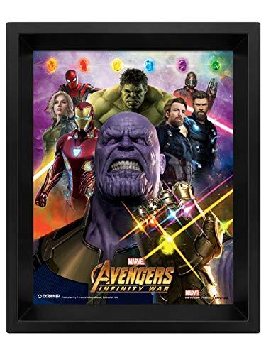 Avengers Infinity War -Poster 3D Gauntlet